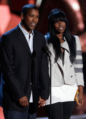 denzel washingtons daughter lands a job with quentin