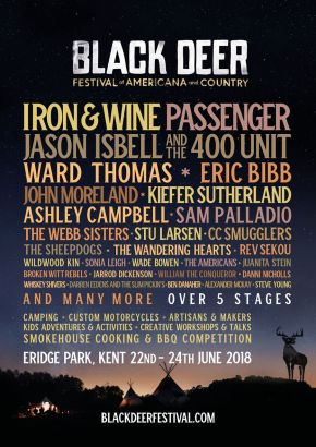 Lineup announcement for Black Deer Festival 2018