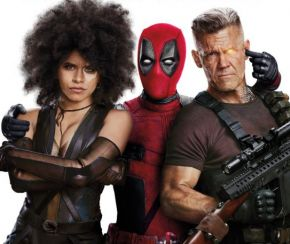 Domino, Deadpool and Cable in Deadpool 2