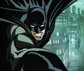 The animated Dark Knight in Batman: Gotham Knight