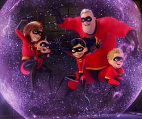 The Parr family are back in Incredibles 2