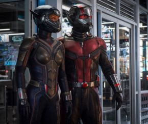 Evangeline Lilly and Paul Rudd in Ant-Man & the Wasp