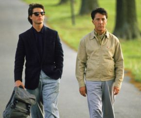 Tom Cruiseand Dustin Hoffman in Rain Man