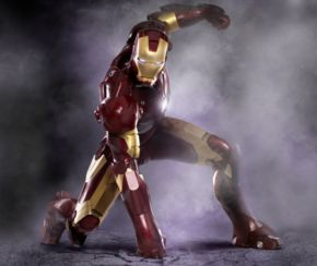 The Armoured Avenger in Marvel's Iron Man