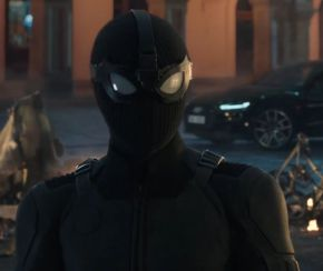 Spidey's stealth suit in Spider-Man: Far From Home