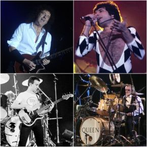 All four members of Queen