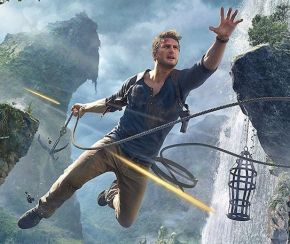 Nathan Drake in Uncharted