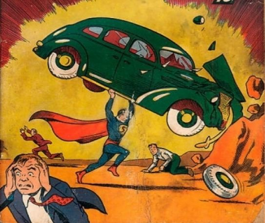 Rare Superman comic sells for $175,000 at auction