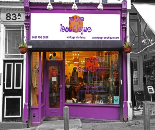 Best of Independent Liverpool - Pop Boutique
