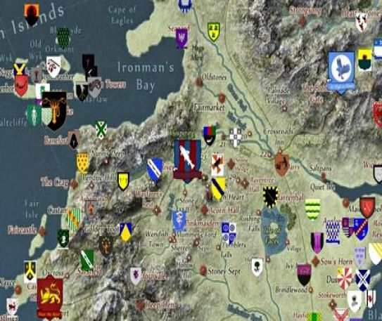 Game of Thrones is brought to Google Maps so fans can follow