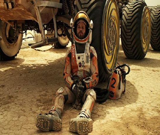 The Martian: A blockbuster motion picture