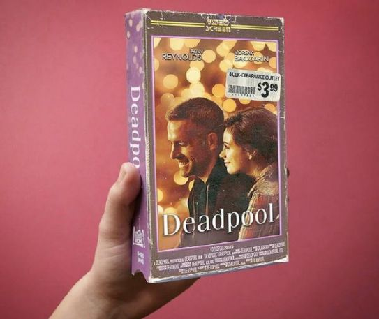 Modern movies with VHS cover art: Deadpool, Star Wars: the Force Awakens and more