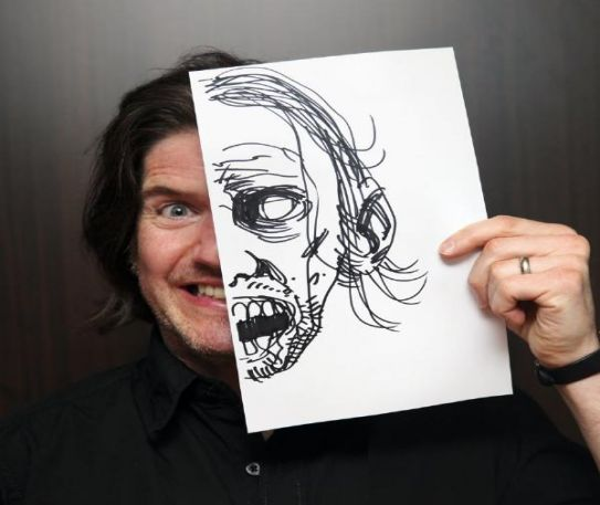 Heroes For Sale discover the art of The Walking Dead with Charlie Adlard