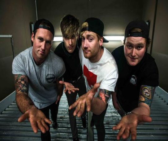 Up and coming punk band The Bottom Line release video for new single