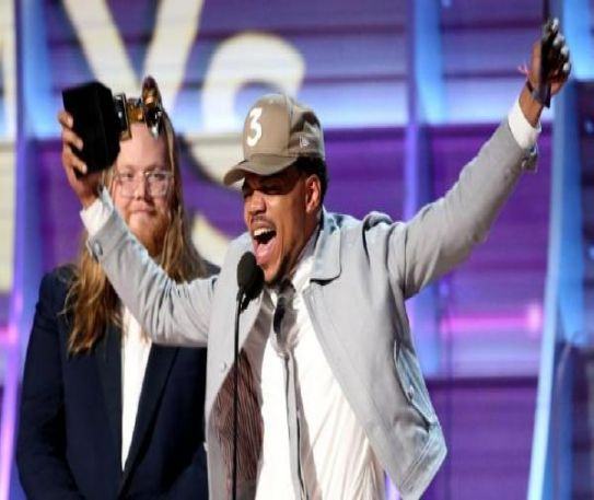 Chance the Rapper makes history following the first ever Grammy Award for a streaming-only album.