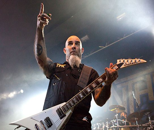Anthrax brought the noise to Manchester