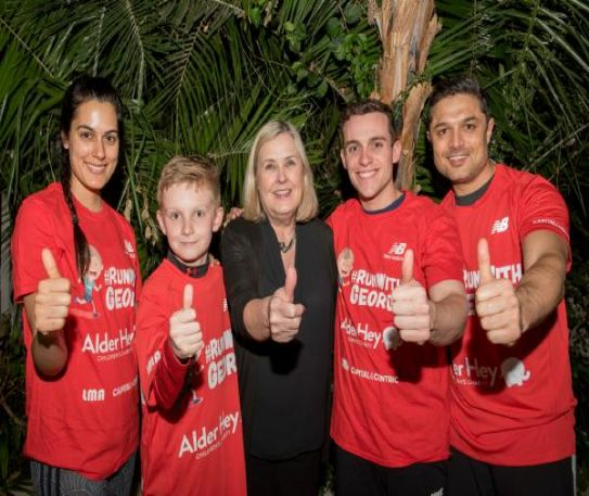 Sefton Park Palm House teams up with personal trainer to the stars to support Run With George campaign