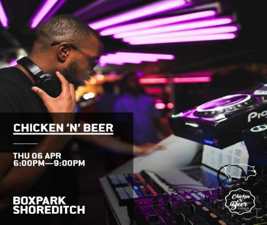 List of upcoming April events at Boxpark