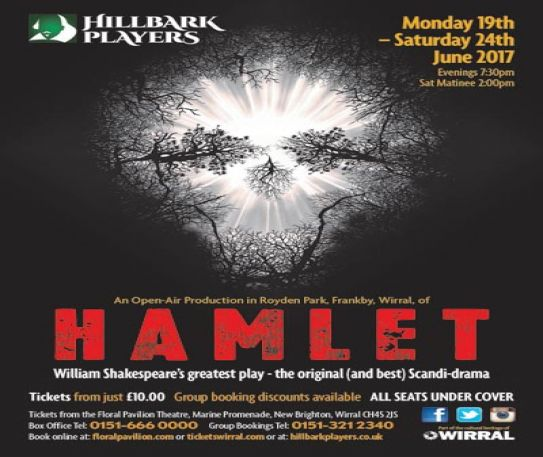 The Hillbark Players' Hamlet at Royden Park, Frankby