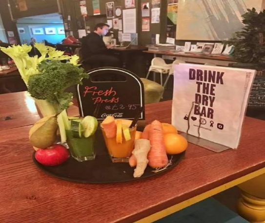 The Brink: fantastic food, detoxing drinks