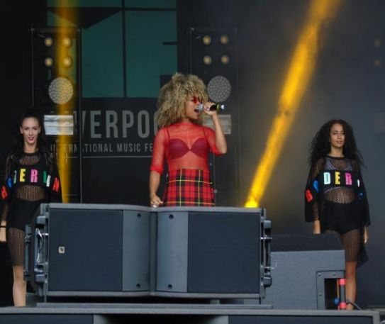 X Factor star Fleur East dazzled at LIMF 2017