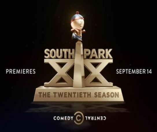 South Park celebrates it's 20th season with new logo and video at Comic-Con