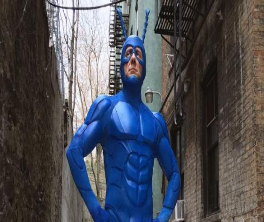 The Tick is returning to Amazon Prime