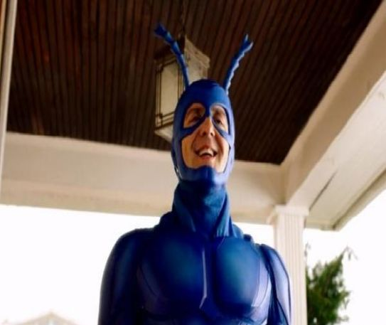 The Tick vs binge watching - creators split the season in two on Amazon Prime