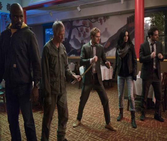 The Defenders - Netflix's answer to The Avengers, gritty and action-packed.