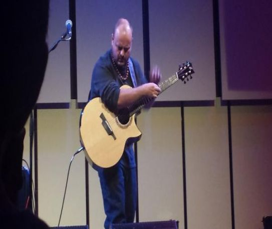 Andy McKee at the Liverpool Philharmonic Hall
