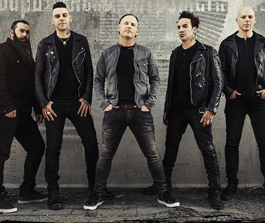 Stone Sour are coming!