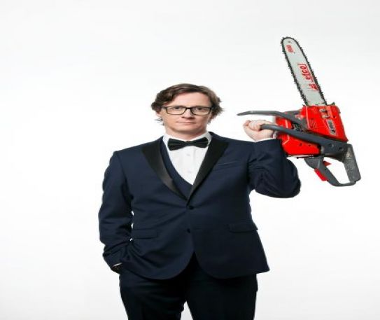 Ed Byrne discusses Brexit, touching electric fences and owning a 4x4 all in his new Spoiler Alert tour