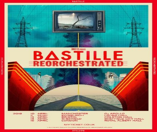 Bastille announce Reorchestrated UK tour for early 2018
