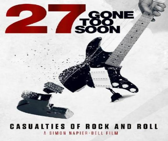 A captivating new film about The 27 Club is set for release March 26th - watch the trailer