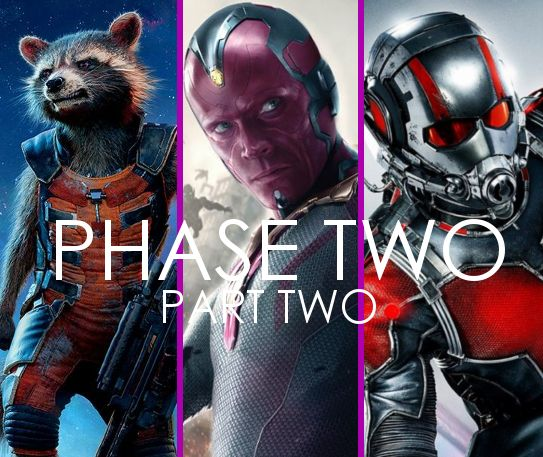 The Road to Infinity War: Phase Two (Part 2)