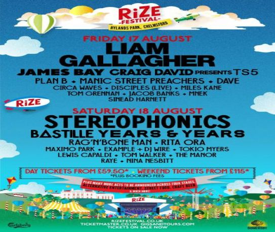 Miles Kane announced for the first ever RiZE Festival this summer