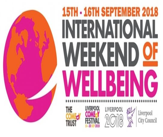 International Weekend of Wellbeing comes to Liverpool Comedy Festival 2018