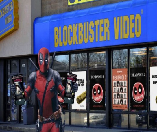 Be kind, rewind - Deadpool 2 brings Blockbuster is back in London, for two days