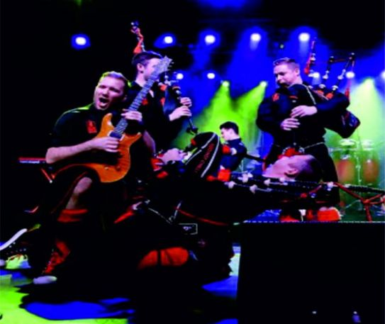 Red Hot Chilli Pipers announce November and December 2018 UK tour