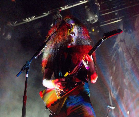 Coheed and Cambria's hair raising return to Manchester