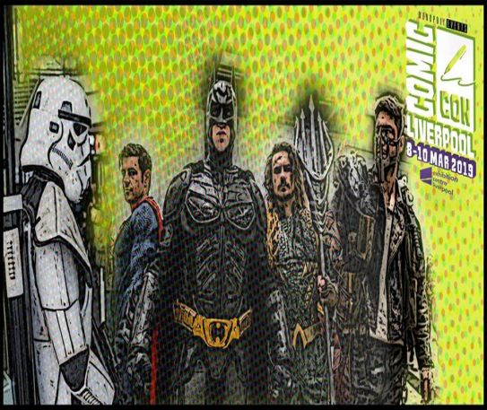 Comic Con is returning to Liverpool this weekend!