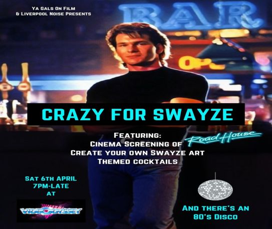 Crazy For Swayze - top Patrick Swayze movie characters