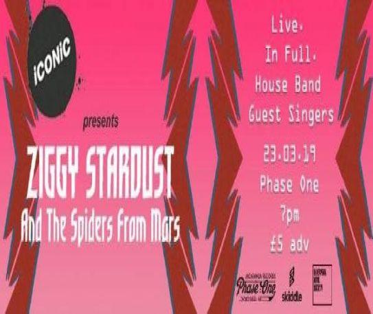 iCONiC Events presents - 'Ziggy Stardust'