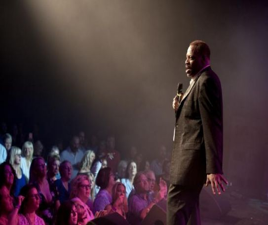 Alexander O'Neal playing at the Liverpool Olympia on Friday 12th April 2019