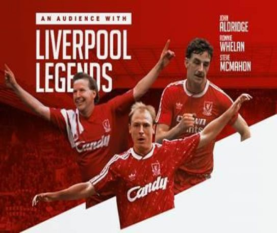 Liverpool FC legends come to St George's Hall and St Helens Theatre Royal for Audience With... event next month