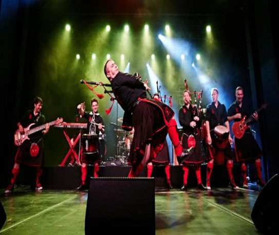 Red Hot Chilli Pipers to play New Brighton's Floral Pavilion in May