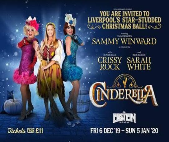 Stellar cast revealed for Cinderella at the Epstein Theatre this Christmas