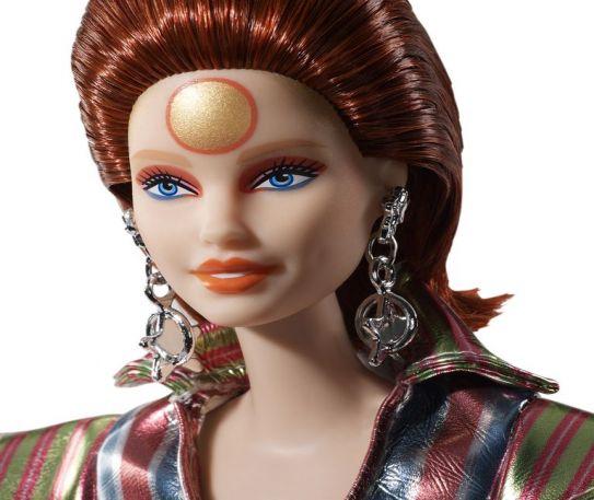 Ziggy Stardust is now a Barbie