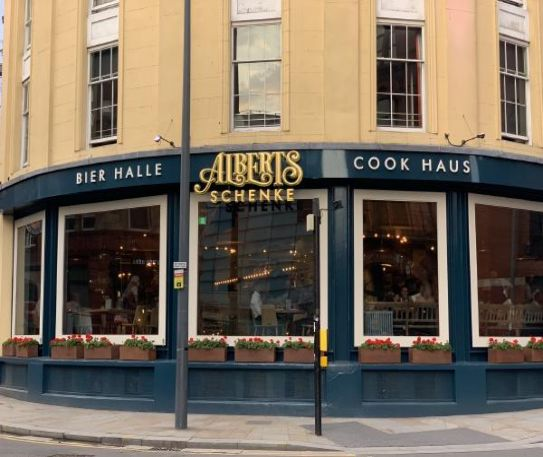 Review: Albert's Schenke