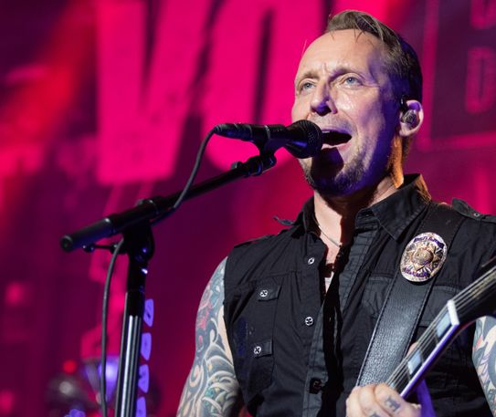 Volbeat bring the good times to Manchester